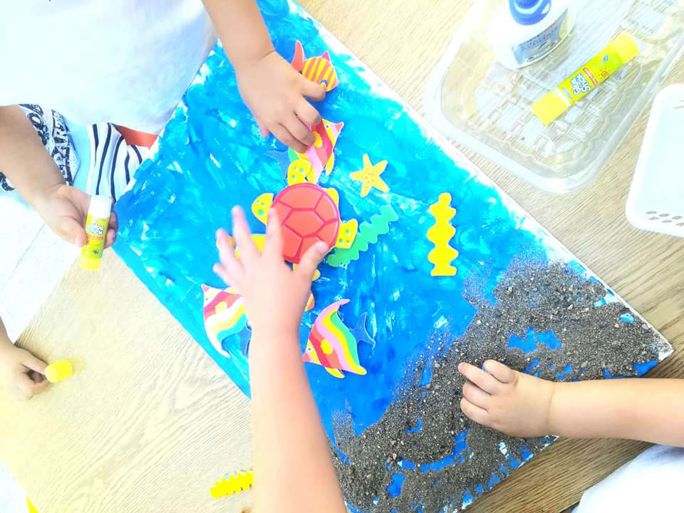 11 и 12 август- екипна работа на децата от Детска градина Монтесори Планета България - гр. Плевен!