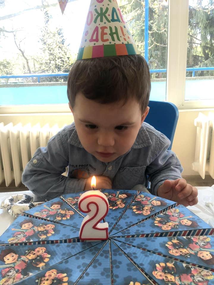 Честит втори рожден ден, скъпи порастнал, Бобо!